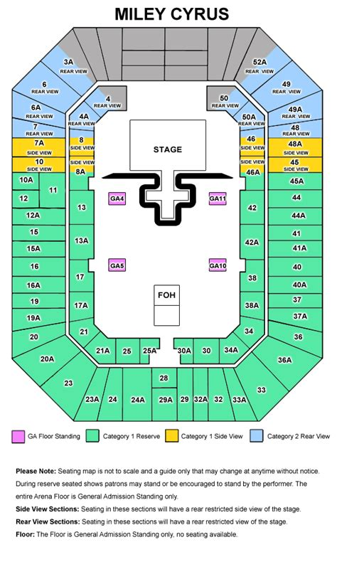 sydney entertainment centre floor plan miley cyrus bangerz australia tour 2014
