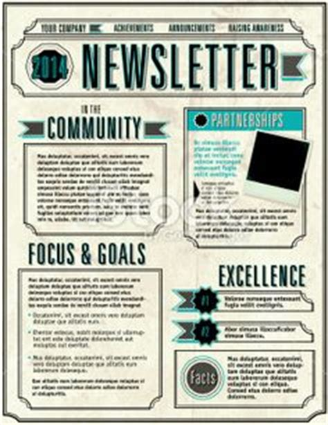 1000 ideas about monthly newsletter template on preschool newsletter templates