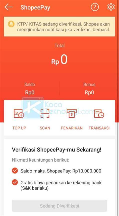 mudah  mengaktifkan shopeepay terbaru  android