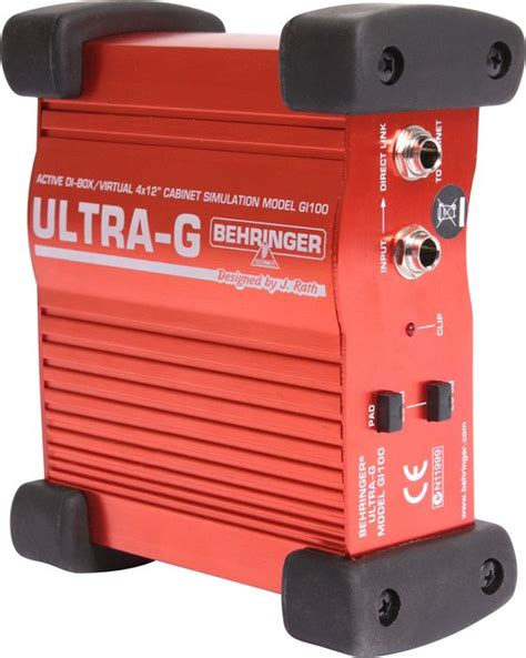 Behringer Ultra G Gi 100 Di Box tech tip what do direct boxes do the hub
