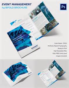 folding booklet template 16 event brochure templates psd designs free