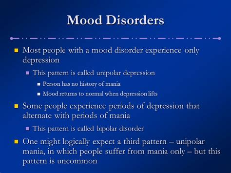 what is mood swing disorder chapter 8 mood disorders ppt download
