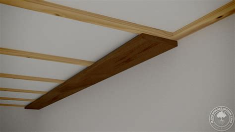Furring Strips Ceiling by Poplar Wood Ceiling Easy How To Advantagelumber
