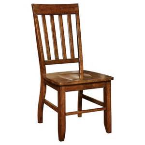 traditional wooden side chair wood oak set of 2