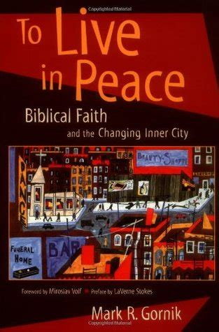 r city book my show to live in peace biblical faith and the changing inner
