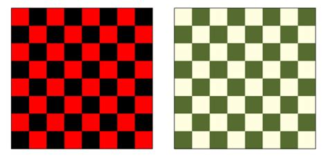 chequer pattern in spanish checkerboard from wolfram mathworld