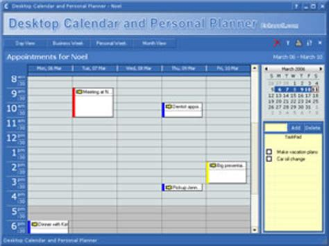 Calendar Software Calendar Desktop Free Program Free Software