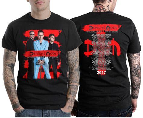 T Shirt Spirit Of Gaza High Quality aliexpress buy depeche mode global spirit tour 2017