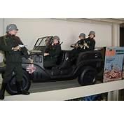 GI Joe Irwin Staff Car With SOTW German Soldiers  My