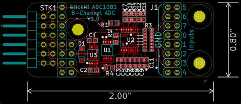 pcb layout software kicad my first kicad board xess corp