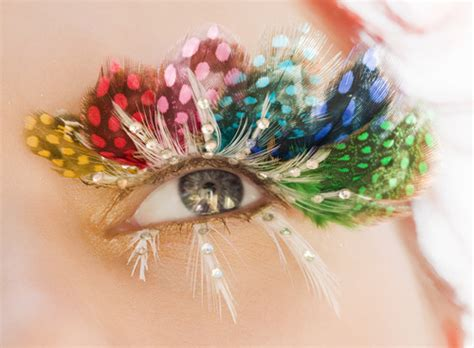 Feeling Feathery Today by Eyelashes How Some Beautify Them Eye Contact An Eye