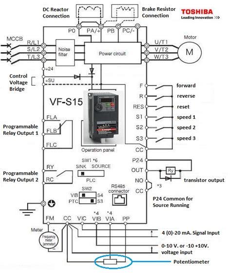 s15 toshiba inverter wiring diagrams repair wiring scheme