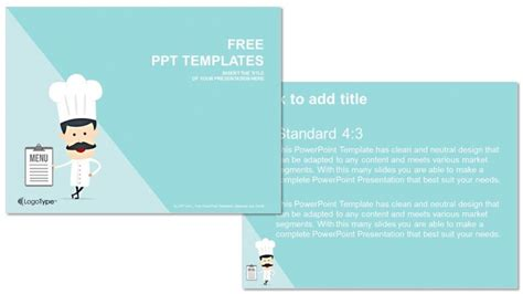 culinary powerpoint templates chef food powerpoint templates