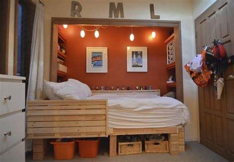 bed in closet ideas 40 teenage boys room designs we love