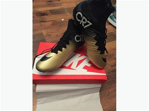 sock boots size 2 nike cr7 gold sock football boots dudley dudley