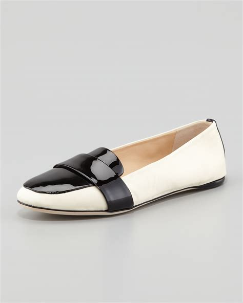 reed krakoff loafers reed krakoff patent grosgrain banded loafer ijshoes