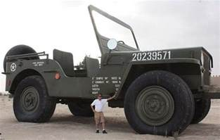 Largest Jeep In The World World S Largest Jeep Throttlextreme