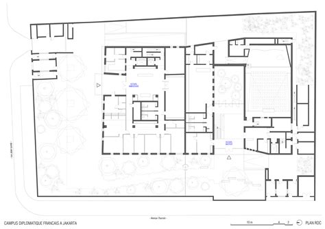 embassy floor plan gallery of embassy of france and french institute in