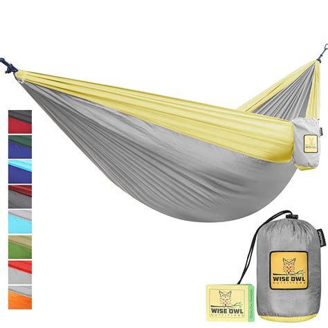 winner outfitters double cing hammock wise owl outfitters single double cing hammock review