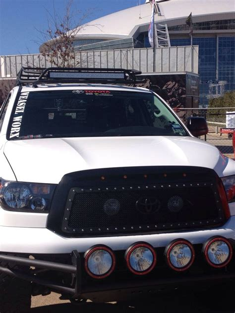 roof rack emergency light bar 15 best toyota tundra images on 20 inch rims