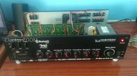 home theater amplifier assembling mosfet amplifier