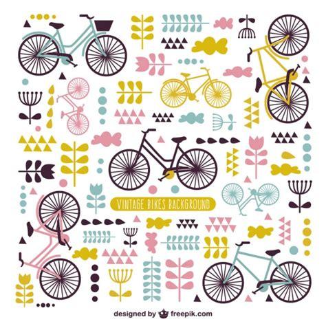 L 4286 C Nel Logo Premium sfondo carino di biciclette d epoca scaricare vettori