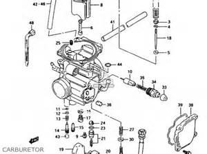 Suzuki 250 Quadrunner Carburetor Suzuki Lt F250 1997 V Parts List Partsmanual Partsfiche