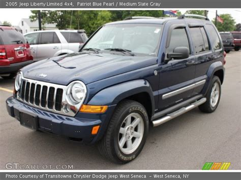 2005 Jeep Liberty Limited Patriot Blue Pearl 2005 Jeep Liberty Limited 4x4