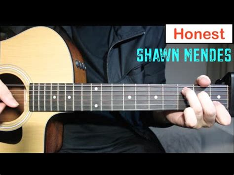 tutorial guitar of honestly shawn mendes honest guitar lesson tutorial how to