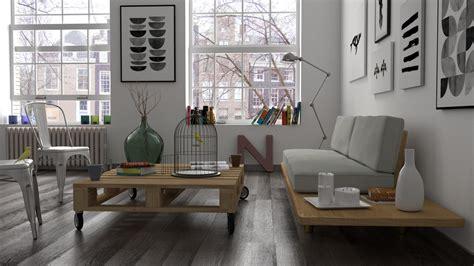 model interior scene