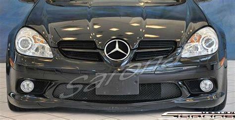custom mercedes slk convertible front bumper    part mb  fb