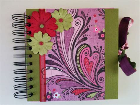 Handmade Albums - handmade photo albums cinch binding 2 ways lacy