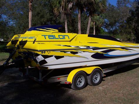 1997 used talon 25 racing catamaran25 racing catamaran - Talon Performance Boats