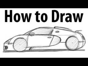 How To Draw Bugatti How To Draw A Bugatti Veyron Sketch It