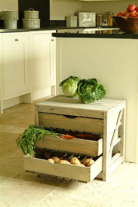 Vegetable Drawer by 3 Drawer Pine Vegetable Storage Unit Garden Trading
