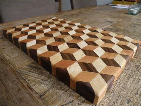 amazing cutting board illusion wood plans  wood