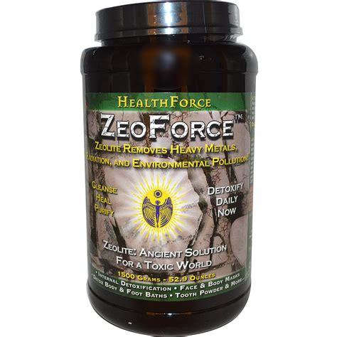Zeoforce Detox by Healthforce Nutritionals Zeoforce Detoxification 52 9