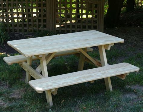 pine picnic bench treated pine kid s picnic table