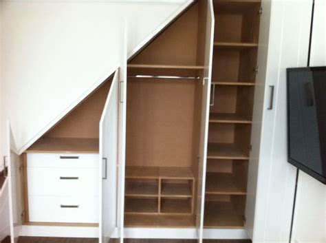 Built In Wardrobe Carcass carcass of stairs built in wardrobe