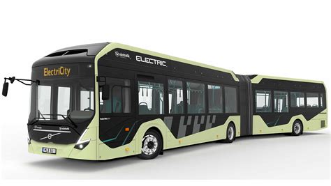 volvo  test  electric articulated buses  general public  gothenburg sweden