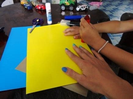 Color Paper Crafts - crafts with colored paper crafts for