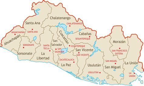 cadenas de oro en el salvador organizaci 243 n territorial de el salvador wikipedia la