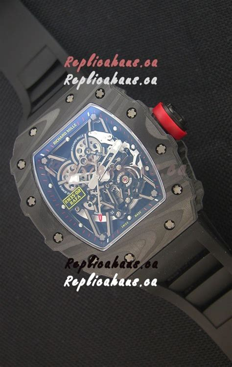 Richard Mille Rm035 Rafael Nadal Canvas Swiss Clone 11 richard mille rm035 2 rafael nadal forged carbon with crown