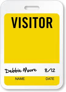 visitor badge template visitor badges reusable badges