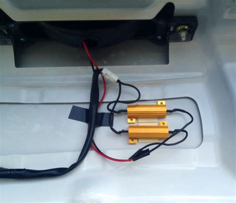 led light load resistor load resistor on led third brake light rx8club