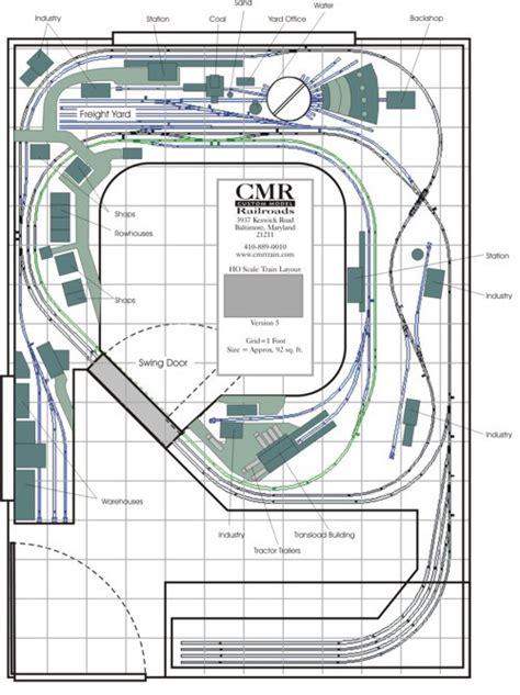 Bedroom Track Plans Custom Model Railroads Layouts And Kits