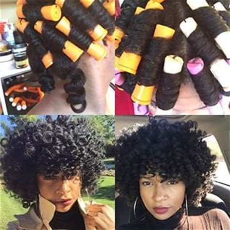 best curling rods for short hair 183 best images about natural hair roller set on pinterest