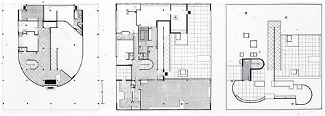 villa savoye floor plan dwg 5 villa savoye purehistory