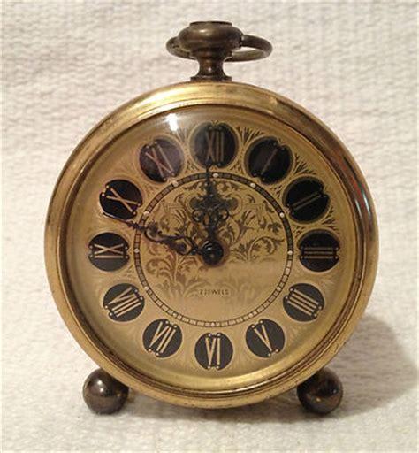 Rueben The Robot Vintage Travel Alarm by Antique Travel Alarm Clock Brass Europa 2 Jewels Vintage