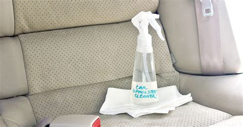 diy upholstery cleaner diy car upholstery cleaner popsugar smart living
